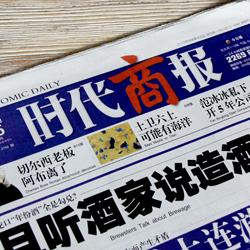 创意共和版式设计案例:《时代商报》排版设计