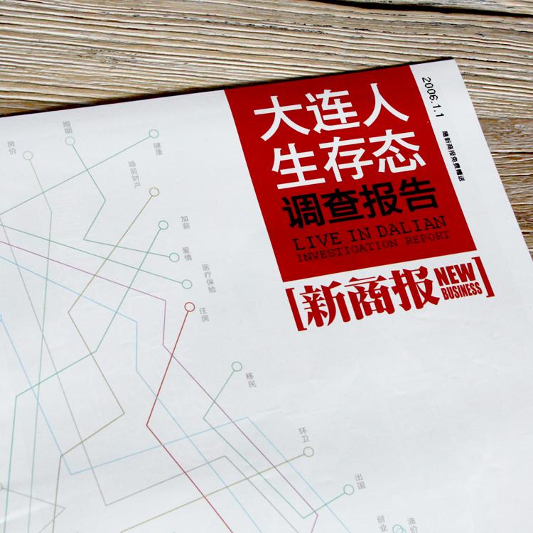 创意共和版式设计案例:《新商报》特刊排版设计