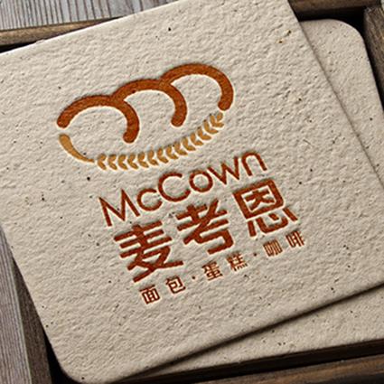 麦考恩面包连锁品牌命名/品牌设计/logo设计/vi设计