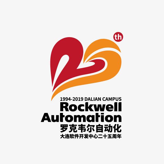 罗克韦尔25周年logo设计