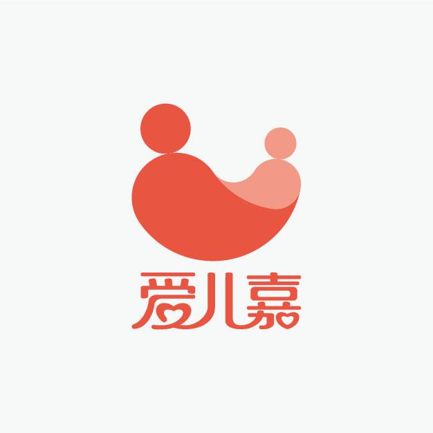 爱儿嘉月子会所品牌设计/logo设计/vi设计