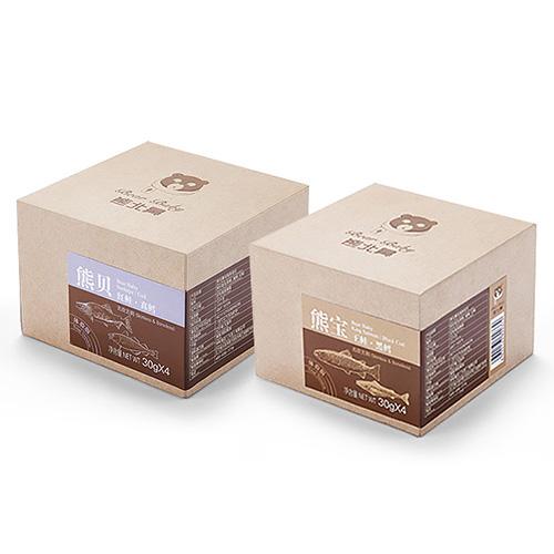创意共和大连设计公司为熊北鼻提供包装设计等服务